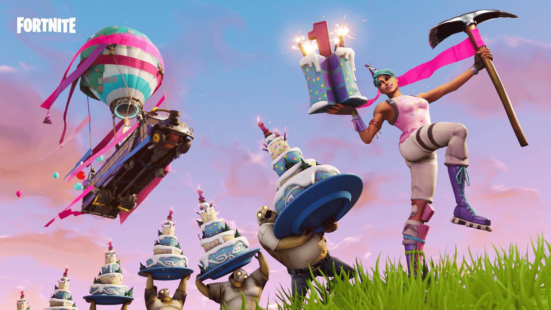 record: פורטנייט חוגג יום הולדת ומביא לנו כמה מתנות cover image