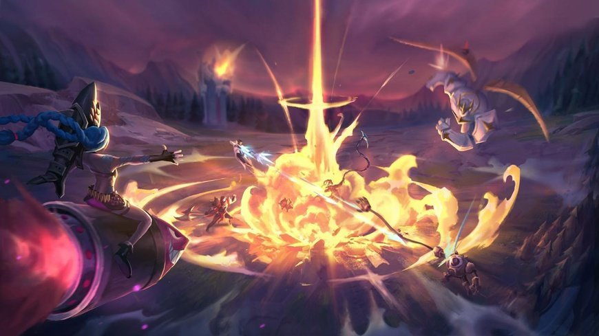 record: זמן לניסויים: מפה חדשה לזמן מוגבל שוחררה ל - League of Legends cover image