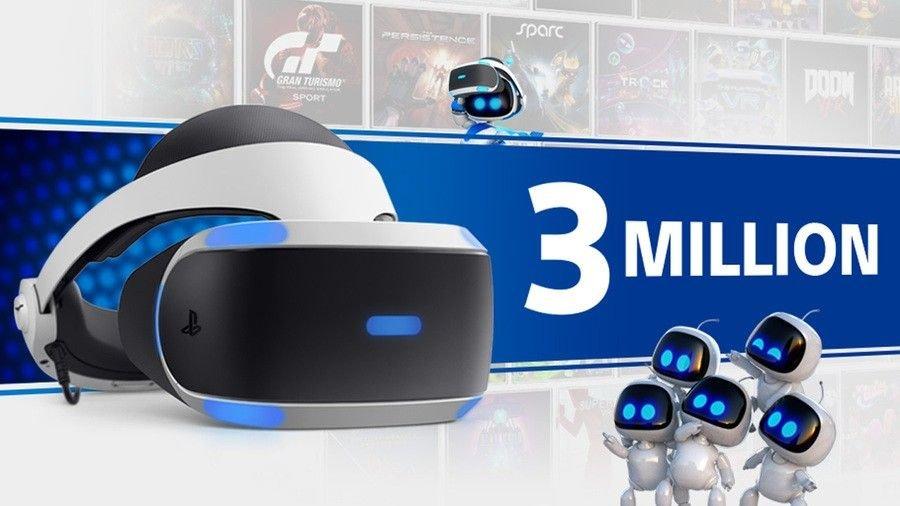 record: PlayStation VR מכר מעל 3 מיליון יחידות בשנתיים בלבד. cover image