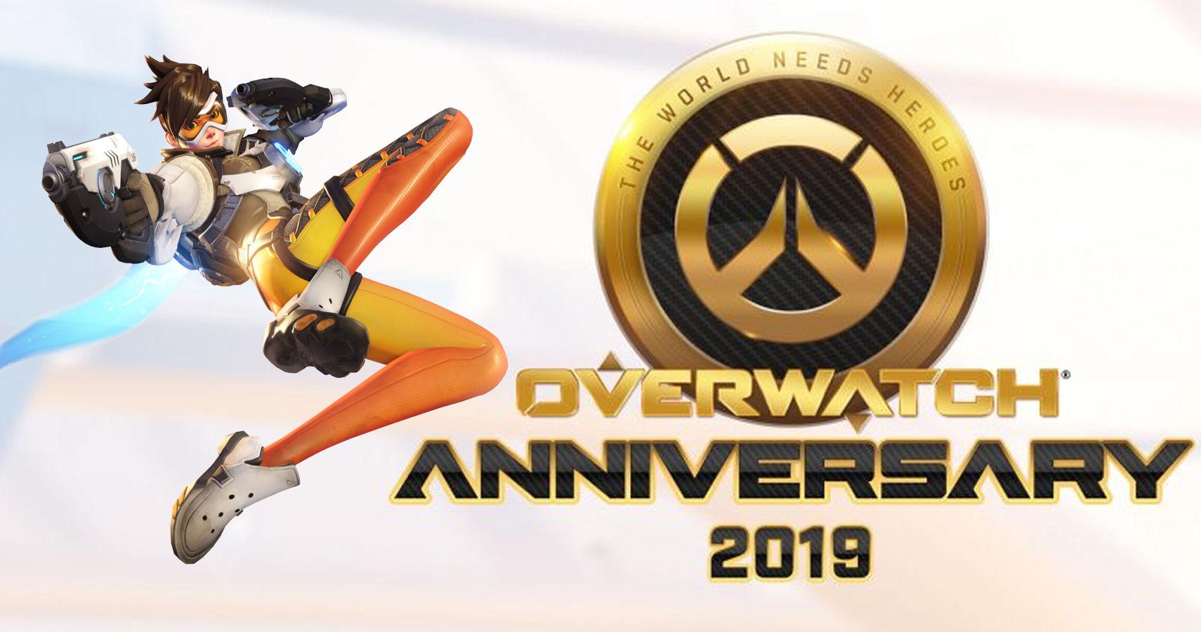 record: חגיגות יום ההולדת של Overwatch חזרו גם השנה! cover image